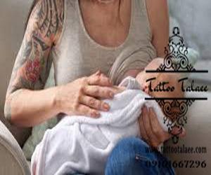 تاتو در زمان شیردهی