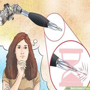 تنظیم عمق سوزن مناسب برای سایه زنی تاتو