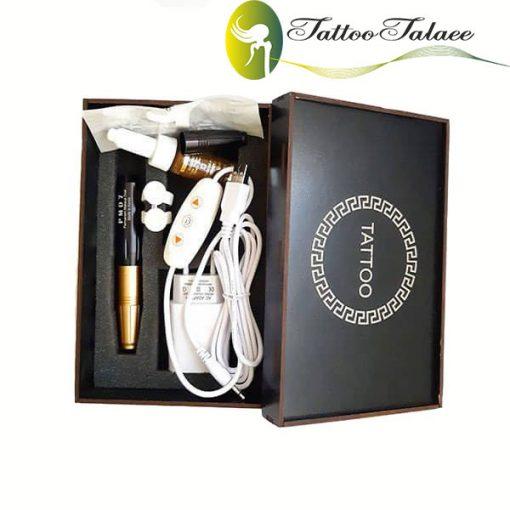 دستگاه تاتو دوکاره PMD7 - مشکی طلایی