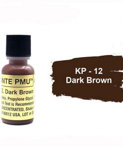 رنگ تاتو کی پی دارک براون