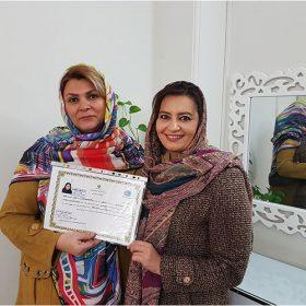 خانم شهرزاد میرزارضا مدرس میکروپیگمنتیشن و میکروبلیدینگ